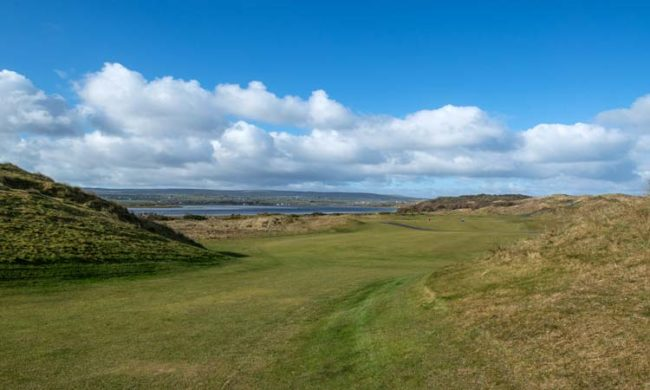 Image of the golf course at Portstewart Golf Club, Portstewart, Co. Derry, Northern Ireland