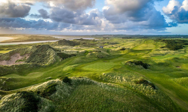Image of the golf course at Castlerock Golf Club, Coleraine, Northern Ireland