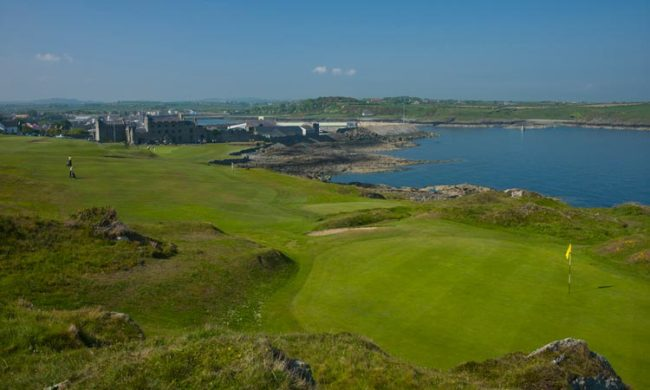 Image of the golf course at Ardglass Golf Club, Ardglass, Co. Down, Northern Ireland