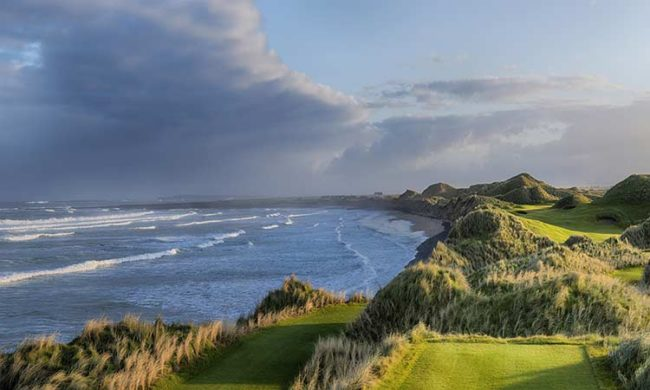 Image of the 6th hole at Trump International Hotel & Golf Links, Doonbeg, Co. Clare, Ireland