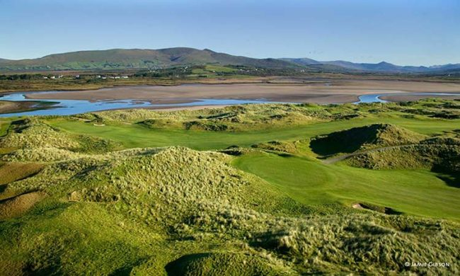 Aerial image of Waterville Golf Links, Waterville, Co. Kerry, Ireland
