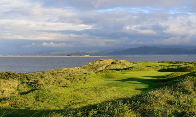 Image of the 4th hole at Dooks Golf Club, Glenbeigh, Co. Kerry, Ireland