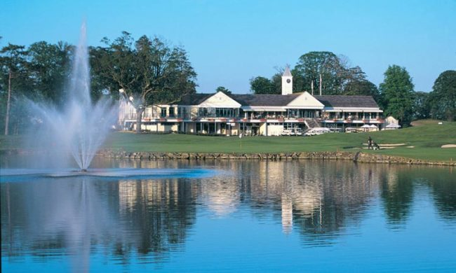 Image of the clubhouse at the Palmer Course, The K Club, Straffan, Co. Kildare, Ireland