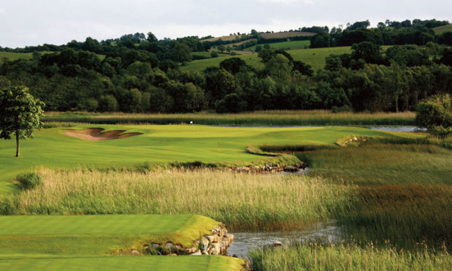 Image of the Faldo course at the Lough Erne Resort, Enniskillen, Co. Fermanagh, Northern Ireland