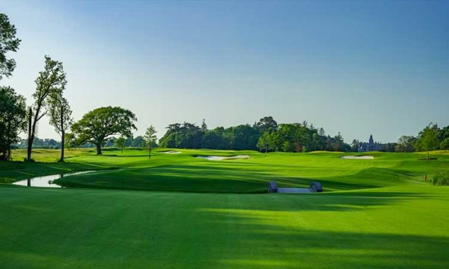 View from the 8th at Adare Manor Hotel & Golf Resort, Adare, Co. Limerick, Ireland